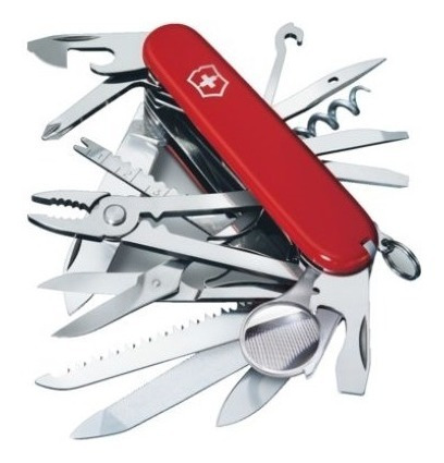 canivete do exército suiço victorinox swiss champ 33 funções