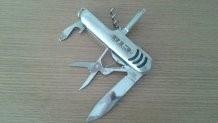 canivete em aço inox - 07 funções