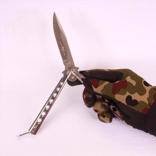 canivete faca butterfly borboleta clássico manobras + capa