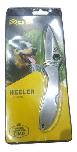 canivete heeler premium cimo inox 440c trava e clip de bolso