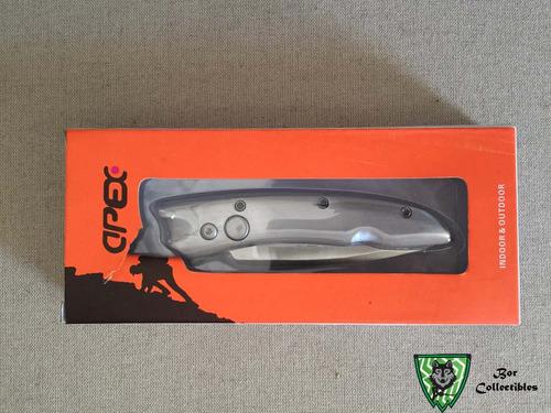 canivete importado apex com trava automático escovado