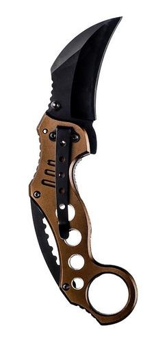 canivete karambit invictus shark ii semi automatico original
