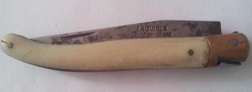 canivete laguiole gaston enée uma lâmina