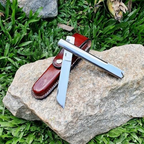 canivete lan bainha grande novo, original e nota fiscal