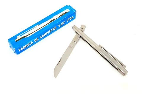 canivete lan caneta pequeno original na caixa de fábrica lan