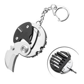 Canivete Multi Tool Chaveiro Edc Chave De Fenda Philips Aço