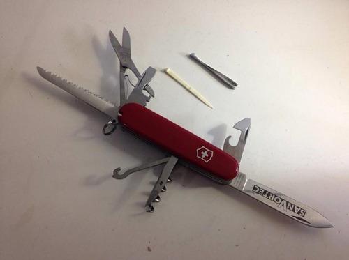 canivete suiço victorinox huntsman 15 funções pouco uso $187