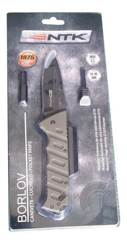 canivete tatico militar aço inox 420 bushcraft igual mormaii