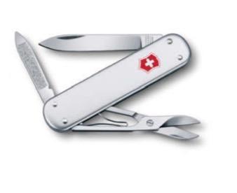 canivete victorinox suisso mod. classic alumínio vermelho