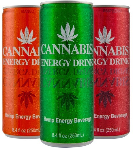 Cannabis Energy Drink Light Pack 24 Unidades