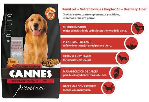cannes alimento para perro adulto bolsa 18k