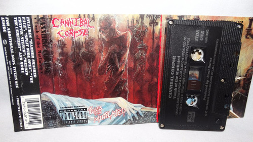 cannibal corpse - tomb of the mutilated (carcasa:ex - insert