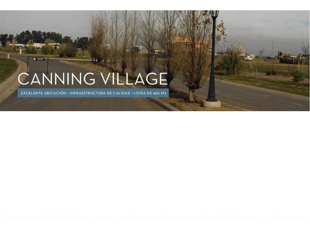 canning village - barrio san simon (acepto pago en pesos)