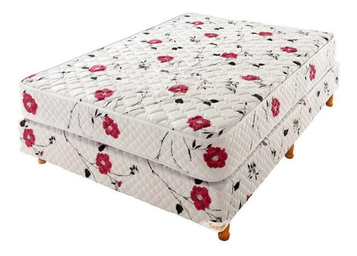 cannon soñar colchón y sommier 2 plazas 190 x 130 cm.