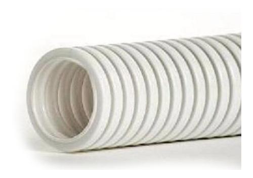 caño corrugado blanco 7/8 antillama norma iram320 rollo 25mt