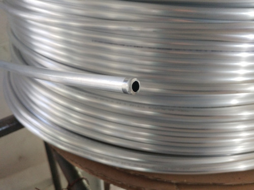 caño de aluminio virgen 3/8 por 15 mts serpentina chopera