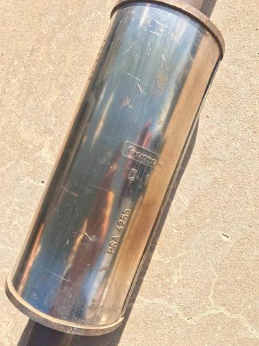 caño de escape original completo peugeot 207 gti thp rc cc