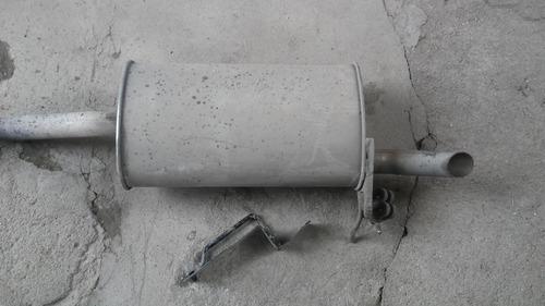 caño de escape silenciador kangoo 1,6 nafta 2015