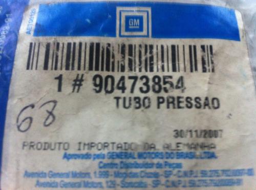 cano de pressao direção hidraulica corsa 96/ gm 90437854