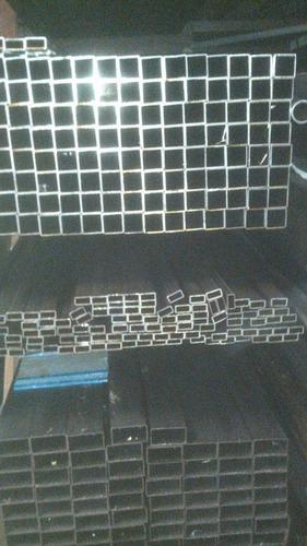 caño estructural 60 x 60  x 1.6 mm x 6 mts. hierro