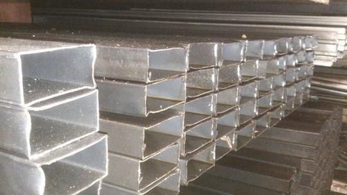 caño estructural 70 x 30  x 1.6 mm x 6 mts. hierro