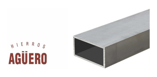 caño estructural rectangular *** 40x30x1,25 *** en 6 mts. hierros agüero