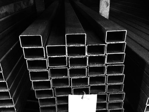 caño estructural rectangular *** 60x20x1,25 *** en 6 mts.