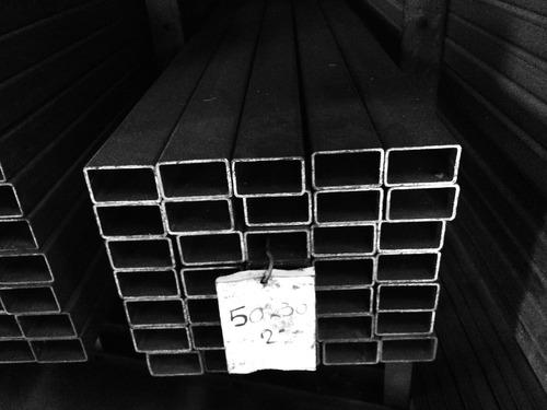 caño estructural rectangular *** 60x30x1,25 *** en 6 mts. - hierros agüero