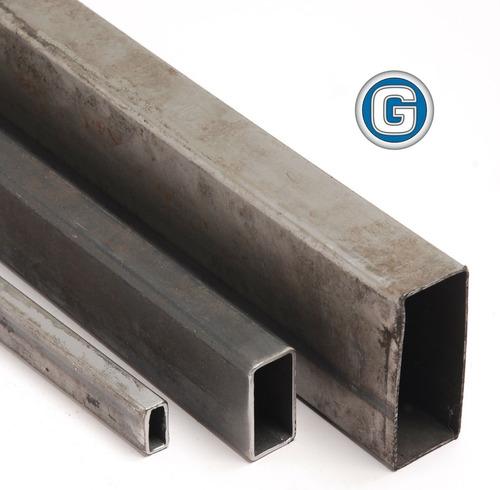caño estructural rectangular de 80 x 40 x 1,25 mm gramabi barra de 6 mt de largo tubo 80x40x1,25 medidas hierro 80x40