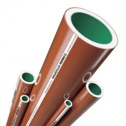 caño hidro3 h3 verde ø 1 1/2 x 6mts. dpksrl.