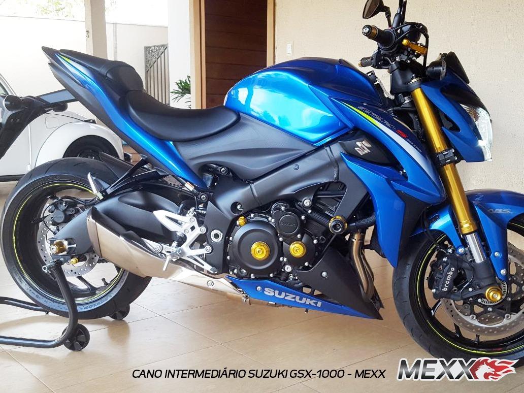 Cano Intermediário Esportivo Suzuki Gsx S1000a Cod.132 - R