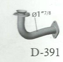 caño salida motor renault clio 1.6 inyeccion 96/99 reforzado