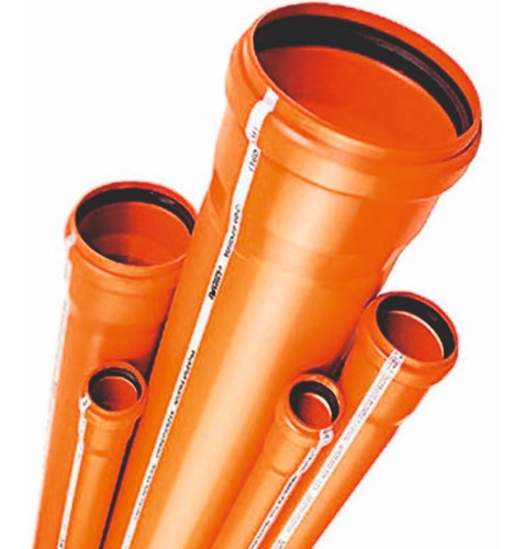 caño tubo awaduct desague cloacal 40 mm x 2 metros