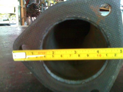 cano tubo cutuvelo saida turbina motor mercedes bens 352/a
