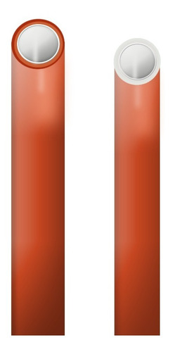 caño tubo roscado bicapa 1/2 agua potable fría caliente 6mts
