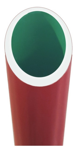 caño tubo roscado tricapa 2p agua potable fría caliente 6mts