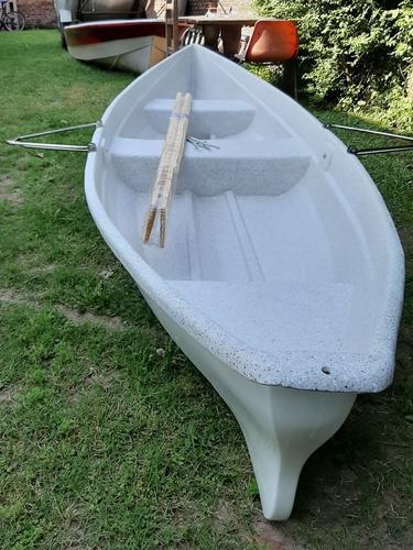 canoa 448 versatil bote a remo y motor - torres boats
