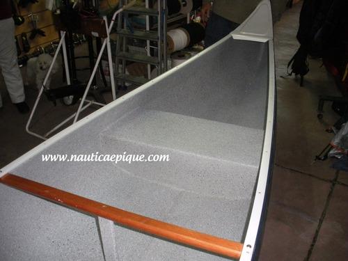 canoa canadiense  olympic marine  náutica el pique - quilmes