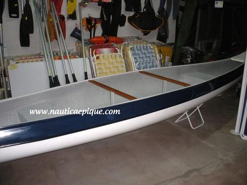 canoa olympic marine recortada - con espejo - quilmes