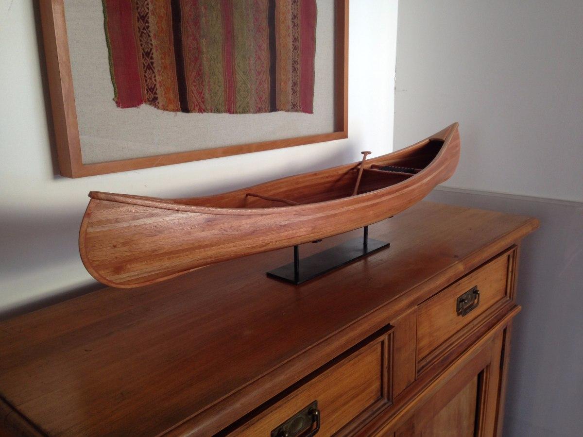 Canoas de madera hechas a mano modelismo naval for Decoracion de casas hechas a mano