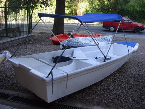 canobote caiman 420 + motor honda 2,3 hp 4 tiempos - nuevo
