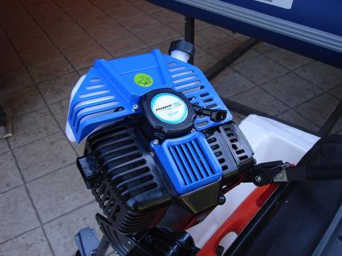 canobote caiman 420 + motor powertec 2hp - nuevo