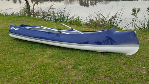 canobote caribe 390 exclusive! con motor 2.6hp