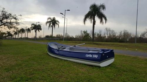 canobote caribe 390 exclusive con motor!! somos fabricantes