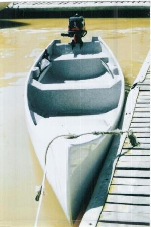 canobote piraguon bahamas 470 no incluye motor!!