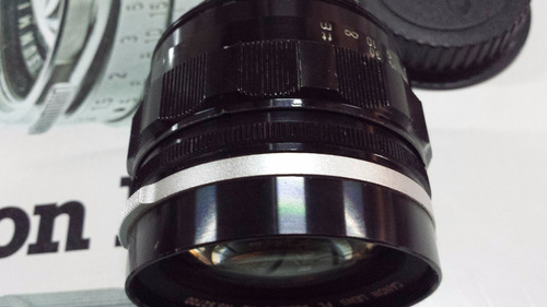 canon 58mm 1.1.2 fl convertido a eos