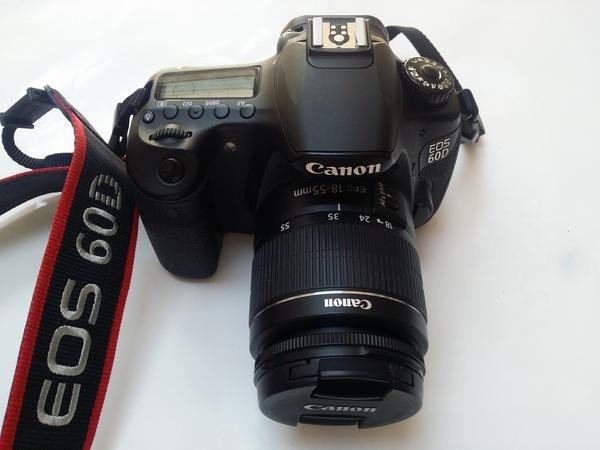 Canon 60d Con Un 18-55 F4 - $ 25 000,00 en Mercado Libre