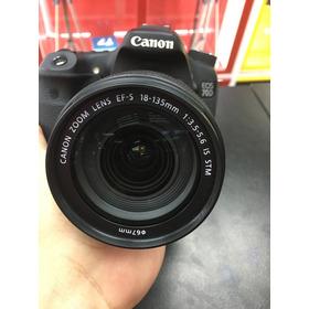 Canon 70d C/18-135 Is Stm Oportunidade  12x Sem Juros