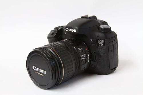 canon 7d como nueva 10 de 10 sin uso