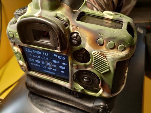 canon 7d mark ii (body) grip  original y funda easy cover